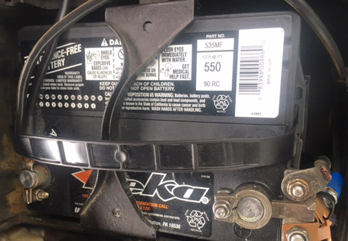 Car Battery Repairs in and near Estero Florida